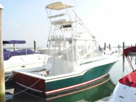 Bottomline Costa Rica Fishing Boat