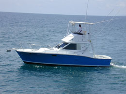 Quepos Costa Rica Fishing Boat