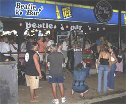 Sexy jaco beach beatle bar sex found