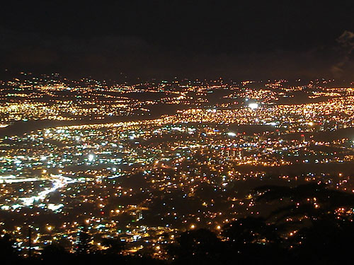 San Jose Webcam at Night